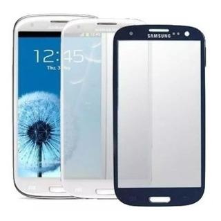 Mica Samsung Galaxy S5 Mini G800 Original / Azul Y Negra
