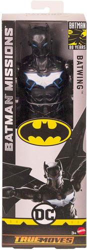 Batman missões True-Move Batman Boneco de 12 Polegadas 11 pontos de articulação Novo