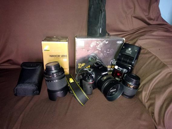 Camera Profissional Nikon D5300, Com Apenas 10k Cliques