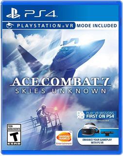 Ace Combat 7 Skies Unknown / Juego Físico / Ps4