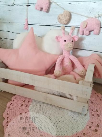 Set Regalo Deco Nena-varon Crochet + Envio Gratis