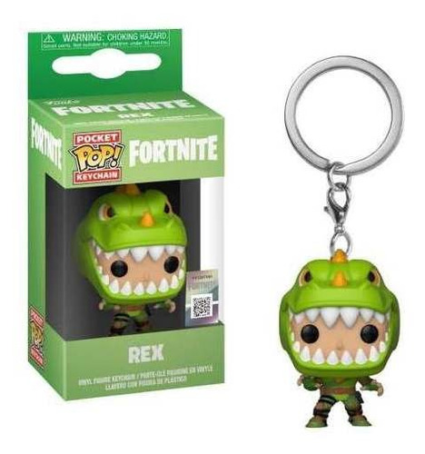 Funko Pop Keychain Rex - Llavero Fortnite
