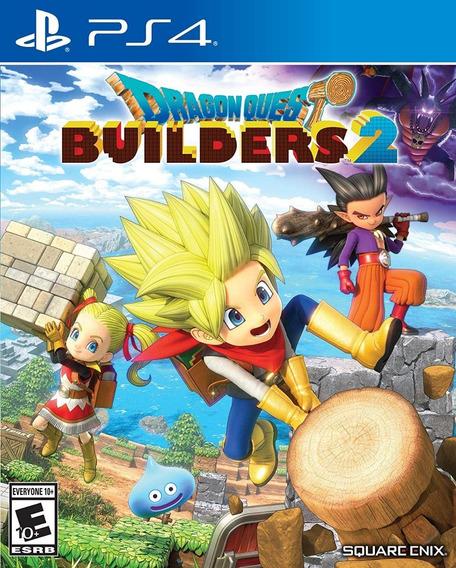 Dragon Quest Builders 2 - Ps4 - Mídia Física