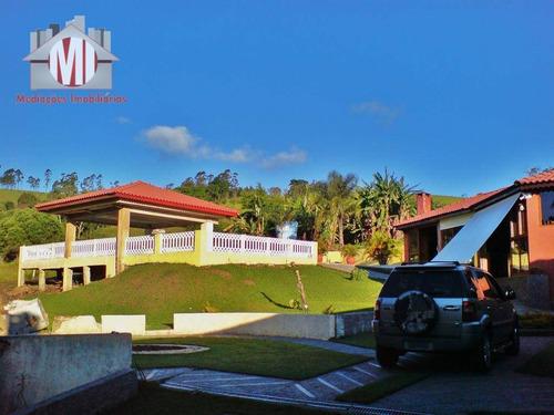 Chácara Com 06 Dormitórios À Venda, 12000 M² Por R$ 1.200.000 - Zona Rural - Pinhalzinho/sp - Ch0207