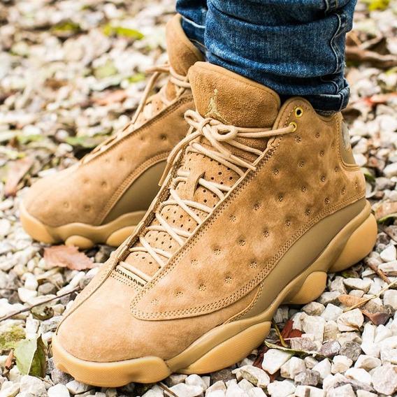 Zapatillas Jordan Retro 13 Wheat Flax Nba - Men