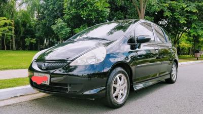 Honda Fit S 1.5 2008 Gasolina Preto