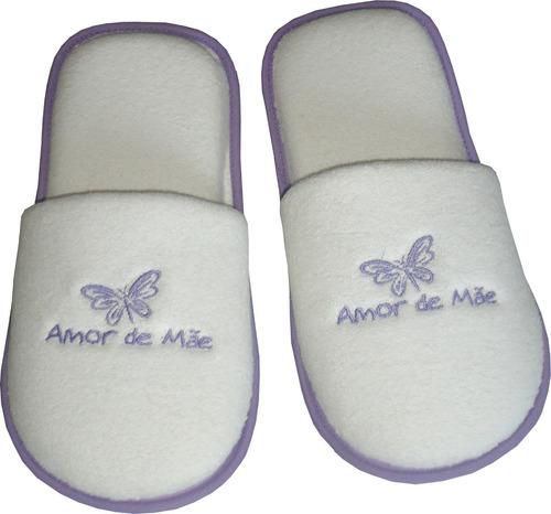 Imagem 1 de 3 de Pantufa Dia Das Mães - Ponta De Estoque - Pequenos Defeitos