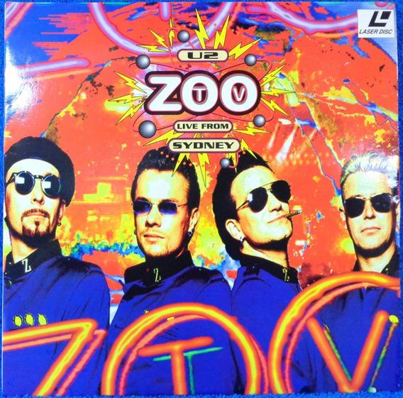 Laserdisc U2 Zoo Tv Live From Sydney Original Pronta Entrega
