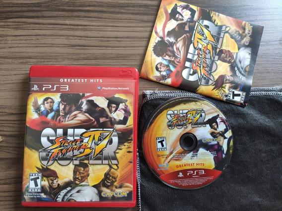 Super Street Fighter Iv Midia Fisica Original