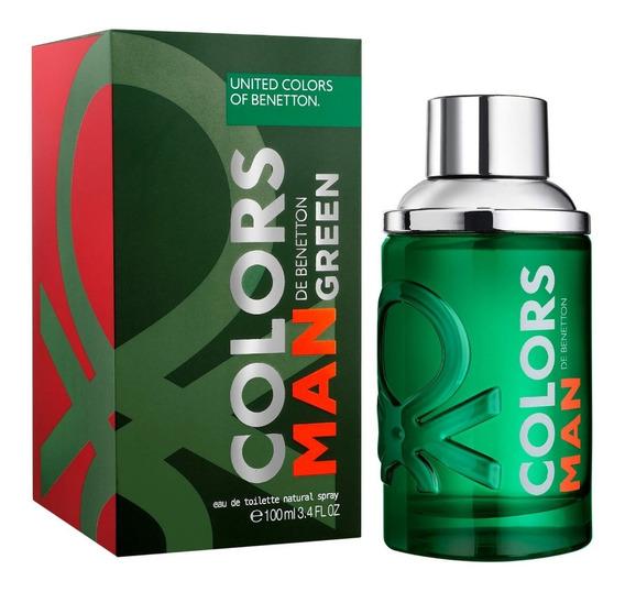 Benetton Colors Man Green Edt 60ml