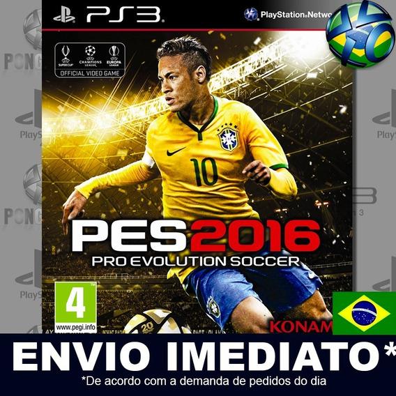 Pes 2016 Pro Evolution Soccer 16 Ps3 Psn Dublado Português