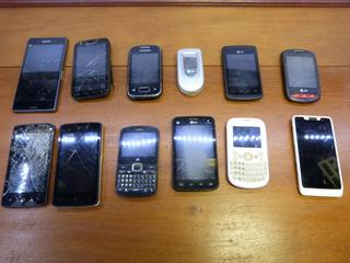 Celular Com Defeito Para Retirar Peças Lote Smartfones