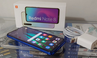 Smartphone Xiaomi Redmi Note 8, 64gb, 48mp, Tela 6.3´, Azul