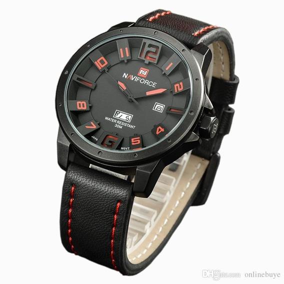 Reloj Naviforce Original 9061, Casual, Vanguardia, Hombre,