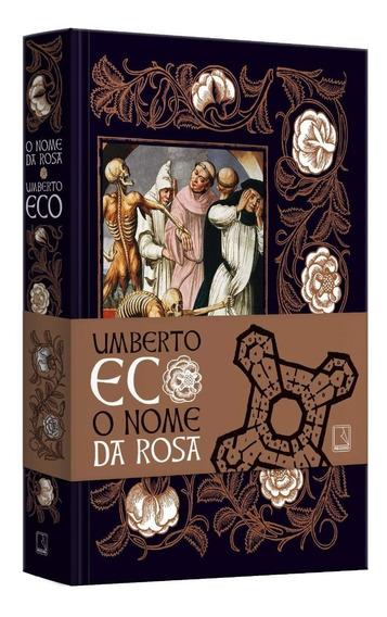 O Nome Da Rosa Umberto Eco Literatura Romance Edição De Luxo