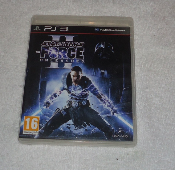 Star Wars The Force Unleashed 2 R2ps3 ** Frete Grátis Leia