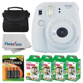 Fujifilm Instax Mini 9 Branca 80 Fotos Baterias E Bag