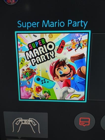Mario Party Nintendo Switch Midia Digital