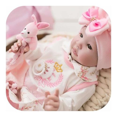 Imagem 1 de 8 de Bebê Reborn Real Menina 53cm Mais Barato Do Mundo Princesa