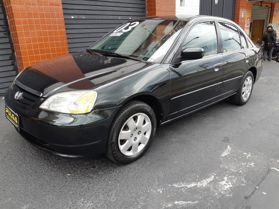 Honda Civic Sedan Lx 1.7 16v Gasolina Manual