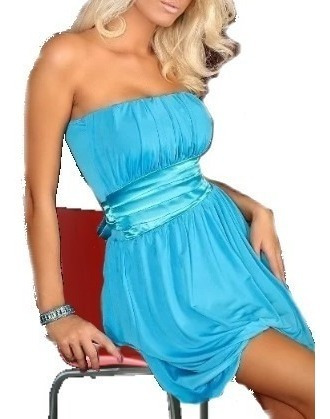 Vestido Corto Sexy - Fiesta - Noche Elbauldecorina 010131