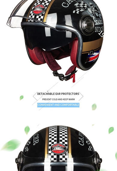 Capacete Beon Italy Cafe Racer M 57/58