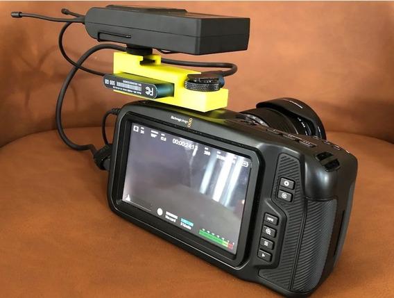 Adaptado Ssd Samsung T5 Na Blackmagic Pocket Cinema Camera 4