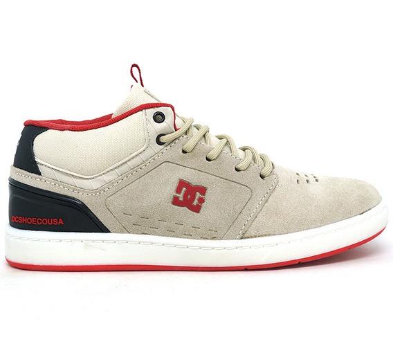 Tênis Dc Shoes Cole Signature Mid Couro