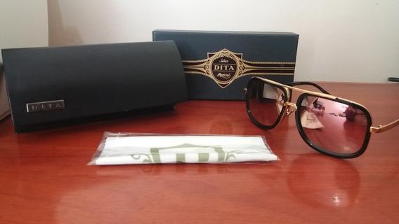 Óculos De Sol Dita Mach One Rosê Novo Pronta Entrega
