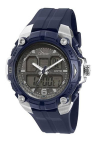 Relógio Masculino Condor Anadigi Coad0912a/8c - Azul