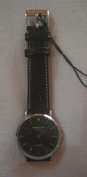 Reloj Kenneth Cole Diamond Color Negro