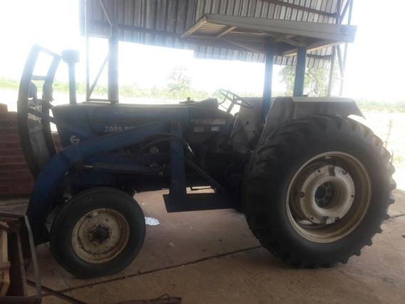 Trator Ford 6600 Com Lamina Tatu E Implementos