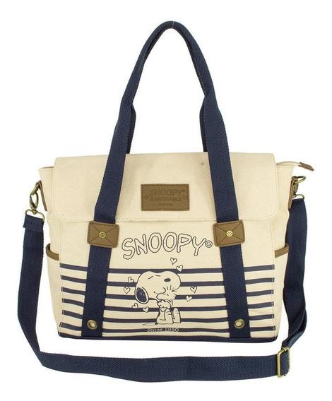 Bolsa Feminina Snoopy Friends Forever Sp1702