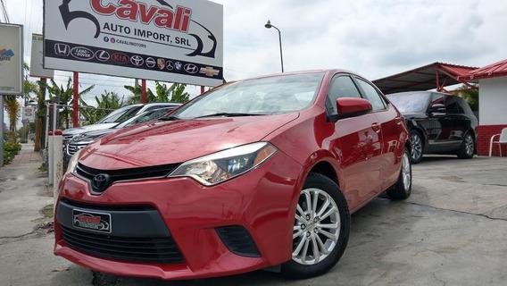Toyota Corolla Le Rojo 2014