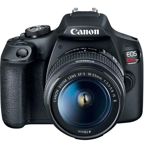 Câmera Canon Eos Rebel T7 C/ 18-55mm Is Il
