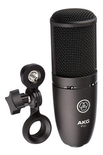 Imagen 1 de 4 de Micrófono Akg P120 Para Estudio