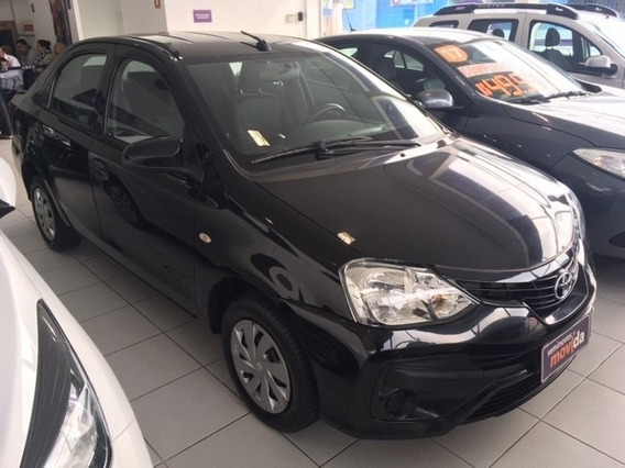 Etios 1.5 X Sedan 16v Flex 4p Manual 39731km