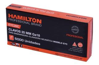 Clavos 40mm Hamilton X 5000 Un. Engrapadora Clavadora Clavo