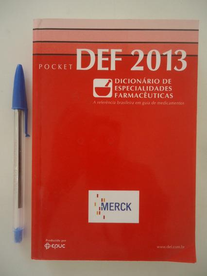 Def 2013 Dicionário De Especialidades Farmacêuticas
