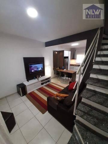 Sobrado À Venda, 72 M² Por R$ 339.200,00 - Jardim Das Cerejeiras - Atibaia/sp - So0056