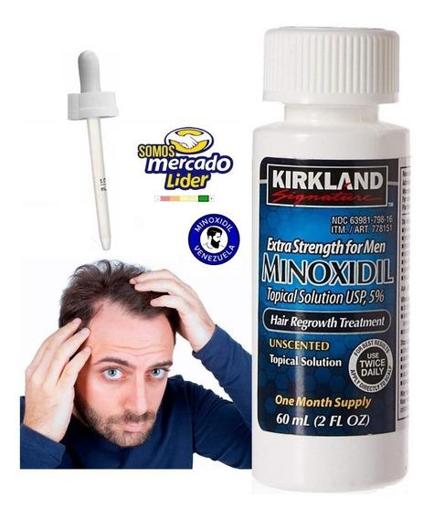 Crece Natural Cabello Minoxidil Kirkland Barba + Aplicador