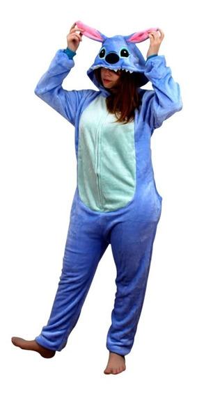Macacão Pijama Stitch Tamanho P Stitch 10070758 Zc
