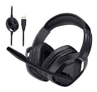 Amazonbasics Pro Auriculares De Diadema Con Microfono Para P