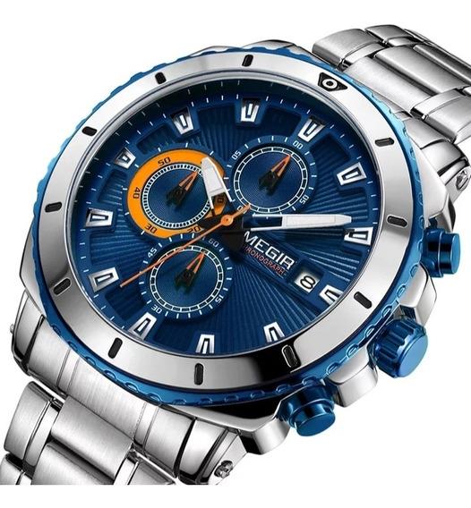 Relógio Megir 2075 Original À Prova D