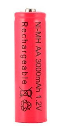 Pila Batería Aa Recargables 3000 Mah Ni-mh Nuevas X 1 Unid