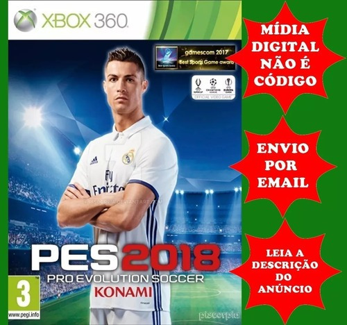Pes 18 Xbox 360 Digital