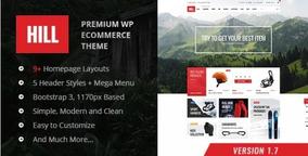 Hill - Responsive Woocomerce Wordpress Theme