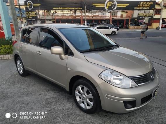 Nissan Tiida S 1.8 Flex Completo Bco Couro 2009 Automatico