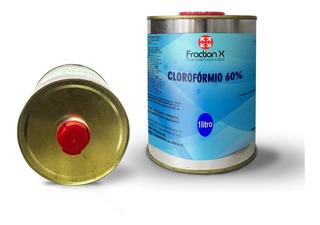 Clorofórmio 60% - 1 Litro - Produto Não Controlado!!