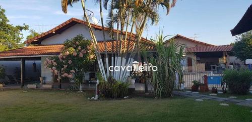 Casa Com 4 Dormitórios À Venda, 250 M² Por R$ 850.000 - Mumbuca - Maricá/rj - Ca3347